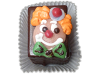 Petit-Fours Clown-Gesicht 2