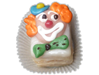 Petit-Fours Clown-Gesicht 3