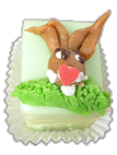 Petit-Fours Oster-Hase 1